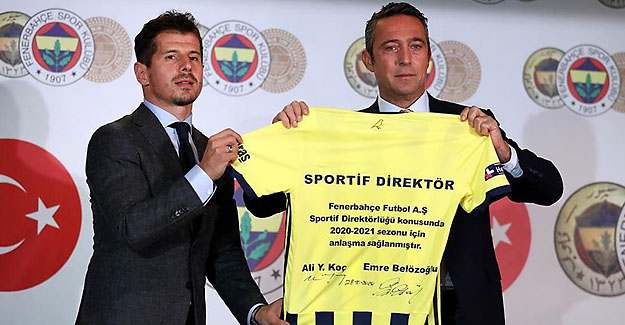 Fenerbahçe'nin yeni sportif direktörü Emre Belözoğlu oldu
