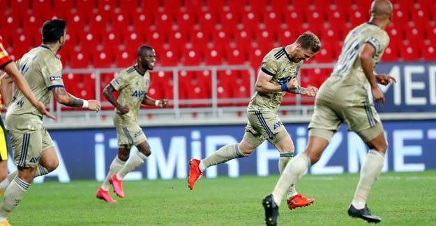Fenerbahçe üç puanı üç golle aldı..