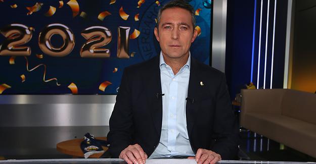 Başkanımız Ali Koç'tan Yeni Yıl Mesajı