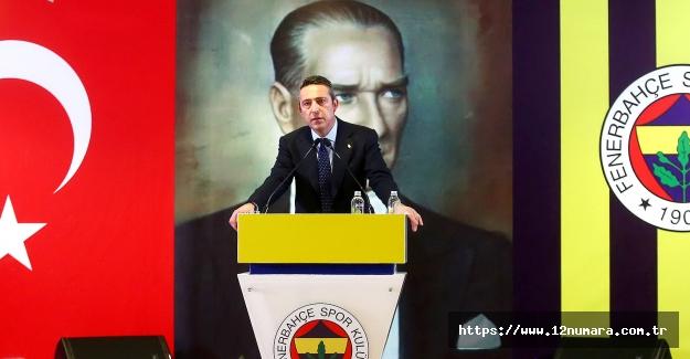 Başkanımız Ali Koç'un YDK toplantısındaki açıklamaları
