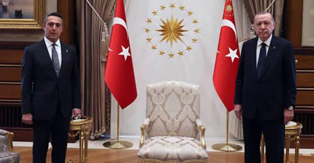 Cumhurbaşkanımız Erdoğan, Başkanımız Ali Koç'u kabul etti