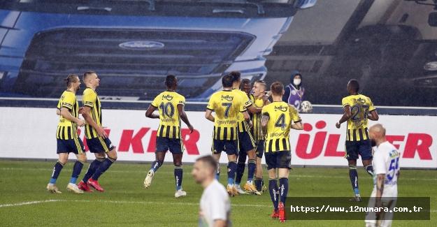 Fenerbahçe 1-0 Çaykur Rizespor