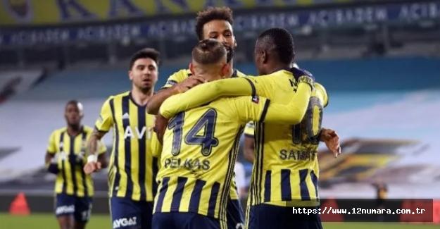 Fenerbahçe'miz tam yol ileri: 3-1