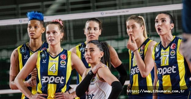 Fenerbahçe Opet, Şampiyonlar Ligi'nde B Grubu'nu ikinci sırada tamamladı