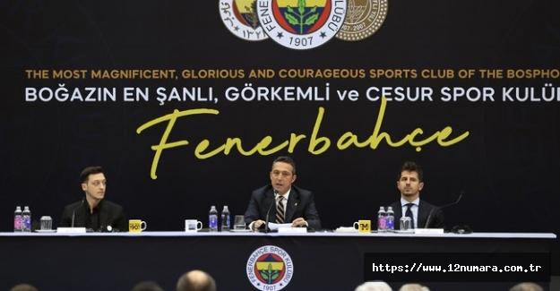 Mesut Özil imzayı attı!.Dünya Fenerbahçe'yi izledi!