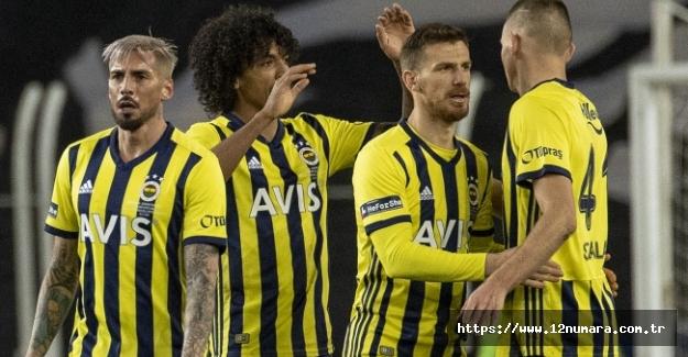 Süper Lig'in yeni lideri Fenerbahçemiz..