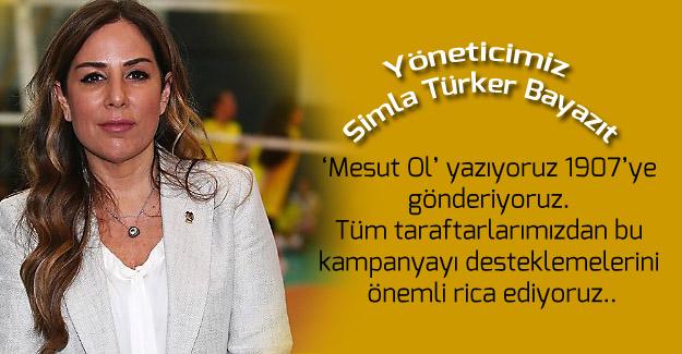 Yöneticimiz Simla Türker Bayazıt: 'Mesut Ol' yazıyoruz 1907'ye gönderiyoruz'
