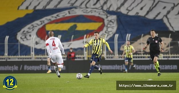 Fenerbahçe'miz evinde yara aldı