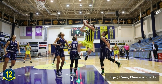 Fenerbahçe Öznur Kablo, Nutrition KBSL'de Play-off serisinde 1-0 öne geçti