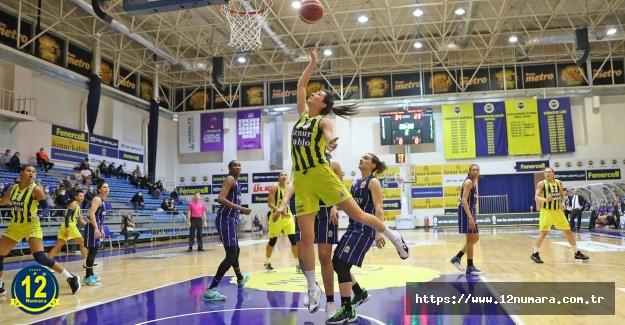 Kadınlar Basketbol Süper Ligi'nde normal sezonu namağlup lider tamamladık