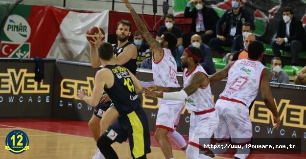 Fenerbahçe Beko, yarı final serisinde 2-1 öne geçti