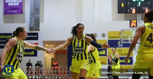 Fenerbahçe Öznur Kablo, Herbalife Nutrition KBSL final serisinde 1-0 öne geçti