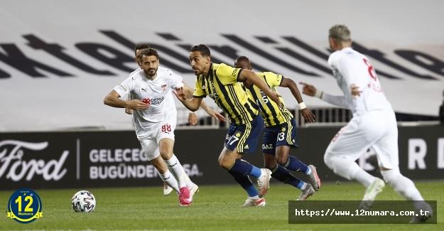Fenerbahçe Sivasspor 1-2