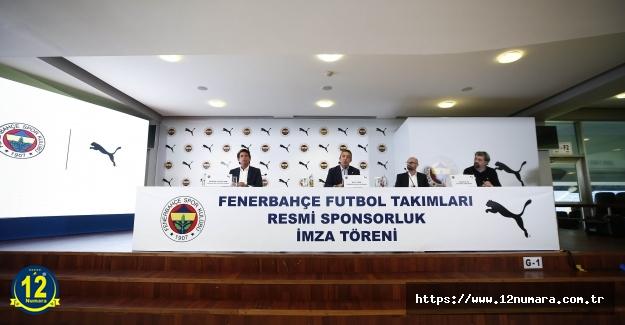 Futbol Takımlarımızın yeni resmi sponsoru Puma ile imzalar atıldı