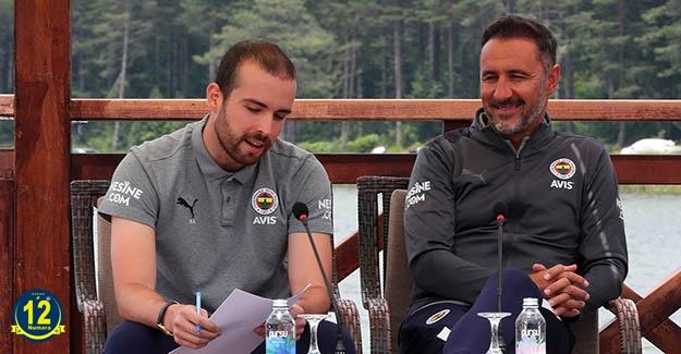 Teknik Direktörümüz Vitor Pereira'dan açıklamalar