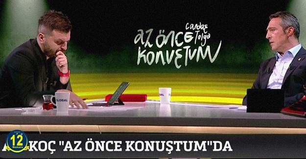 Başkan Ali Koç: Santrfor alacağız..