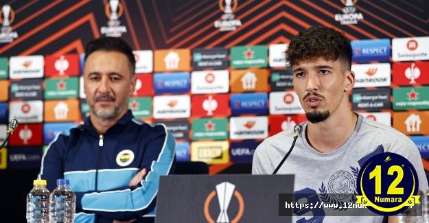 Vitor Pereira: Yarınki maçta taraftarımızın enerjisine ihtiyacımız var
