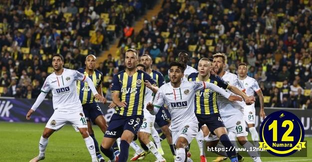 Fenerbahçe 1-2 Aytemiz Alanyaspor