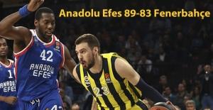 Anadolu Efes 89-83 Fenerbahçe
