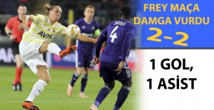 Fenerbahçe'den geri dönüş : 2-2