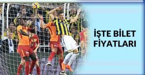 Galatasaray-Fenerbahçe derbisinin biletleri satışta