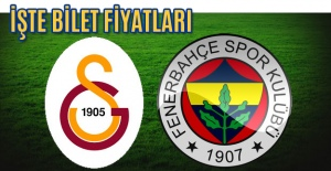 Galatasaray-Fenerbahçe Derbisinin En Ucuz Bileti 150 Lira