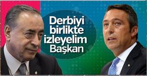 G.Saray'dan Ali Koç'a derbi için tarihi davet!