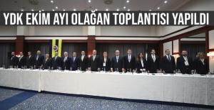 YDK EKİM AYI OLAĞAN TOPLANTISI YAPILDI..