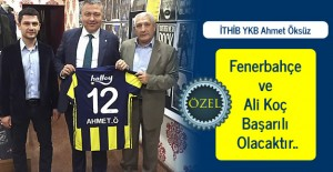 Ahmet Öksüz: Fenerbahçe ve Ali Koç Başarılı Olacaktır..