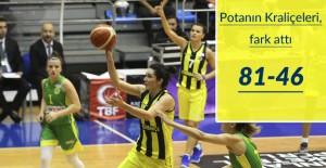 Fenerbahçe 81-46 İstanbul Üniversitesi
