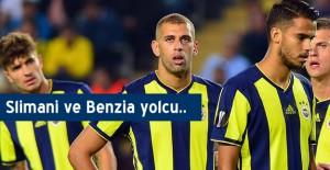 Fenerbahçe'de Slimani ve Benzia ayrılıyor