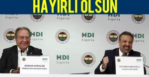 HDI Sigorta ile sponsorluk anlaşması imzalandı
