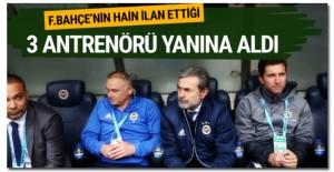 Kocaman Fenerbahçe'den kovulan antrenörleri yanına aldı