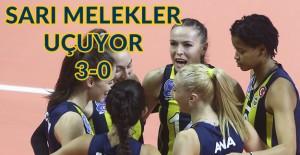 Sarı Melekler, Türk Hava Yolları'nı 3-0 ile geçti