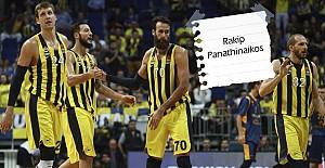 Fenerbahçe, Panathinaikos'a konuk oluyor