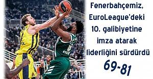 Panathinaikos 69-81 Fenerbahçe