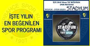 Yılın 'En' Beğenilen Spor Programı Belli Oldu..