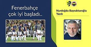 Fenerbahçe çok iyi başladı..