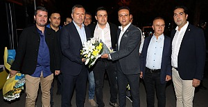 Futbol A Takımımız Mersin'de