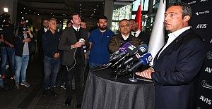 Başkanımız Ali Koç'tan açıklamalar