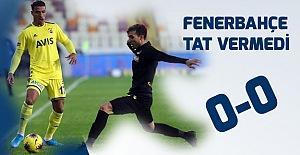 BTC Türk Yeni Malatyaspor 0-0 Fenerbahçe