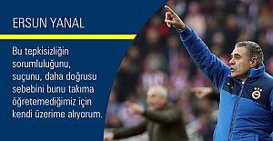 Ersun Yanal, D.G. Sivasspor maçını değerlendirdi