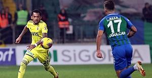 Fenerbahçe'miz ligin ilk yarısını galibiyetle kapattı