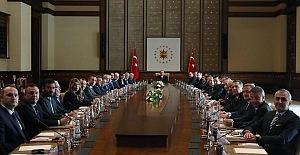 Cumhurbaşkanı Erdoğan Kulüpler Birliği Başkanı Sepil ve beraberindekileri kabul etti