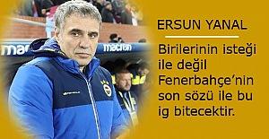 Yanal: Ligin en son sözünü Fenerbahçe söyleyecek