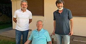 Rıdvan Dilmen ve Aykut Kocaman'dan Aziz Yıldırım'a flaş ziyaret