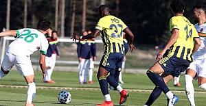 Fenerbahçe 1-1 Alanyaspor (Hazırlık maçı)