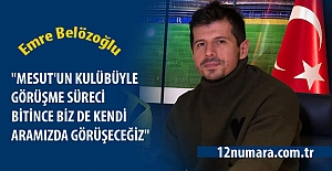 Emre Belözoğlu#039;dan Mesut Özil...