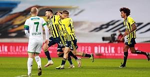 Fenerbahçe 2-1 Aytemiz Alanyaspor