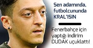 Mesut Özil#039;in Fenerbahçe için...